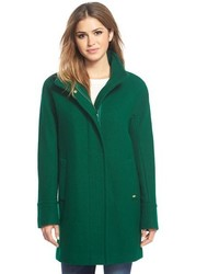 Petite wool blend stadium coat medium 366095