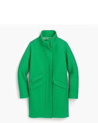 J.Crew Tall Cocoon Coat In Italian Stadium Cloth Wool