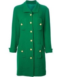 Chanel Vintage Single Breasted Coat