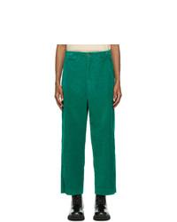 Gucci Green Corduroy Trousers