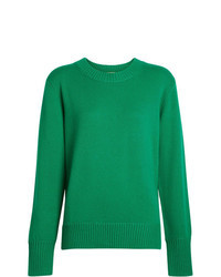 Green crew neck sweater original 1329297