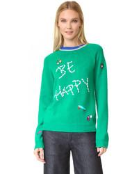 Mira Mikati Be Happy Sweater