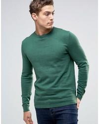 Esprit Crew Neck Cashmere Mix Sweater