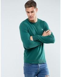 d33f5e52e80 Men's Green Crew-neck Sweaters from Asos | Men's Fashion | Lookastic.com
