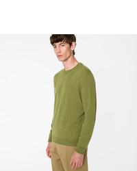 Green cashmere sweater medium 5413386