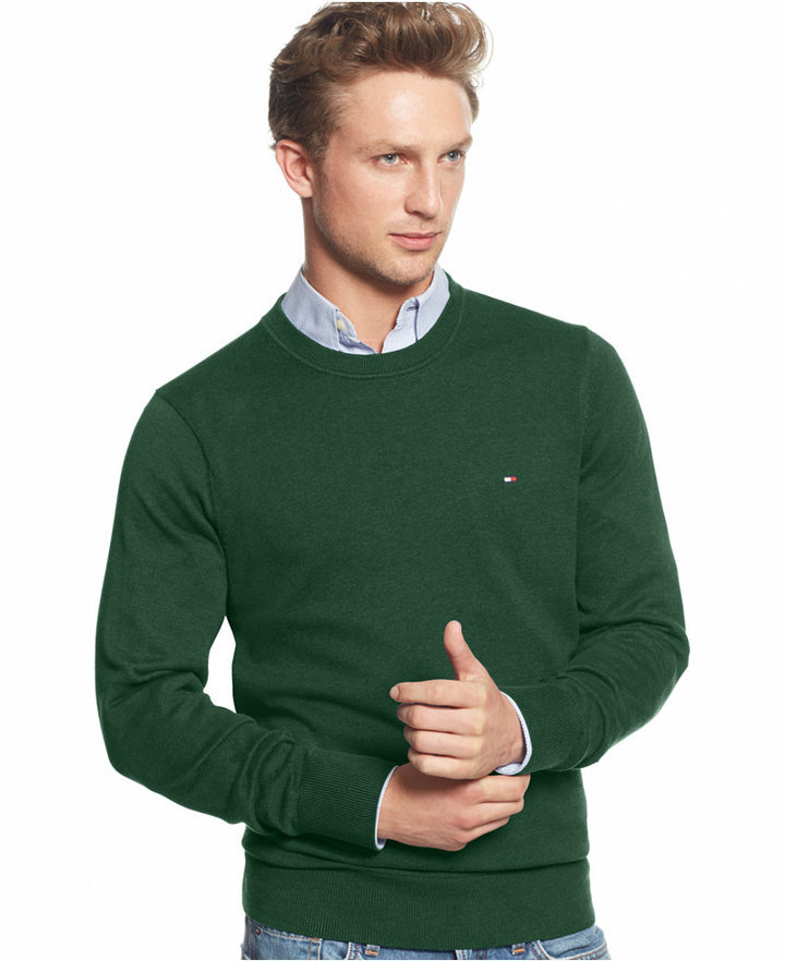 ... Tommy Hilfiger Signature Solid Crew Neck Sweater