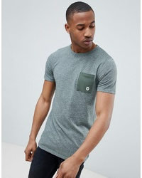 Jack & Jones Core T Shirt With Contrast Pocket
