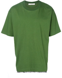 Golden Goose Deluxe Brand Fringe Hem T Shirt