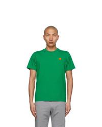 Kenzo Green Tiger Crest T Shirt