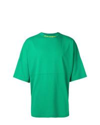 Palm Angels Oversized Logo T Shirt