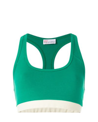 RED Valentino Block Colour Crop Top