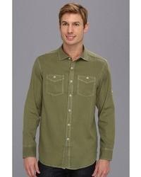 Green Denim Shirts for Men | Men's Fashion