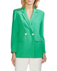 Vince Camuto Parisian Crepe Double Breasted Blazer