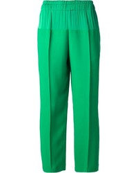 Lanvin Contrast Panel Trousers