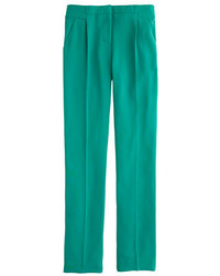 J.Crew Pleated Crepe Pant