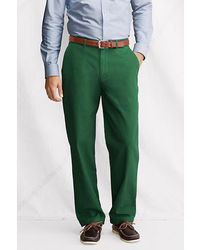 Lands' End Traditional Fit Sailcloth Chino Pants