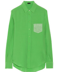 Green dress shirt original 1279725