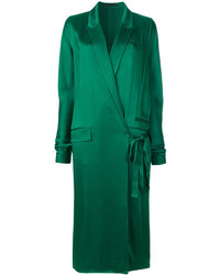 Haider Ackermann Pocket Detail Wrap Dress