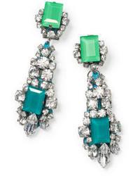 Club Monaco Rada Emerald Earrings