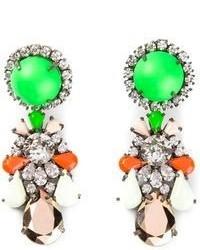 Shourouk Marguerite Bambi Earrings