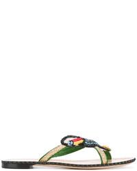 Parrot embellished sandals medium 3676973