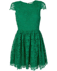 Alice + Olivia Aliceolivia Lace Embroidered Shift Dress