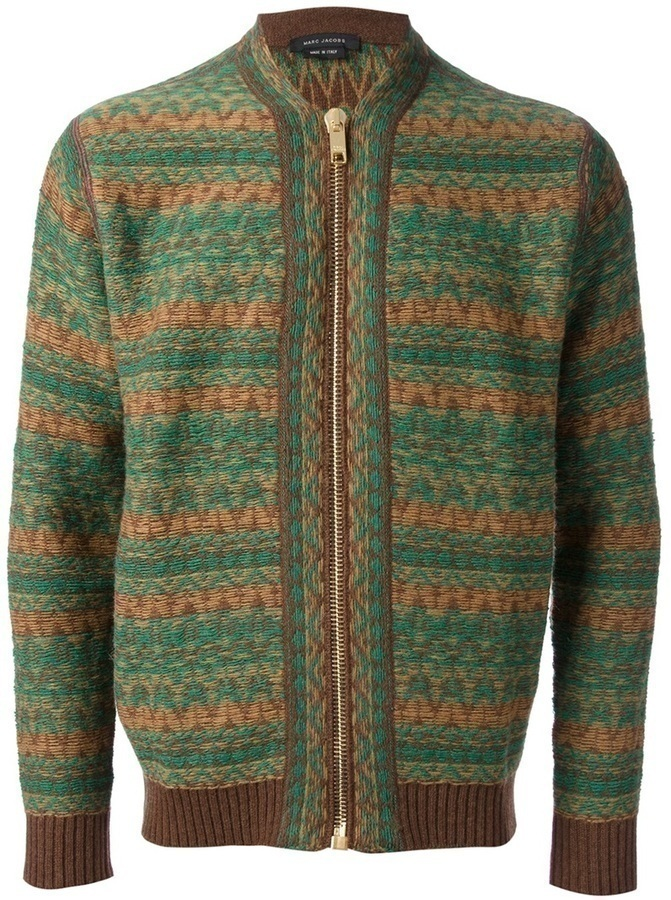 Marc Jacobs Patterned Cardigan