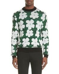 Calvin Klein 205W39nyc Andy Warhol Flower Sweater