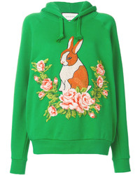 Gucci Rabbit Needlepoint Hoodie