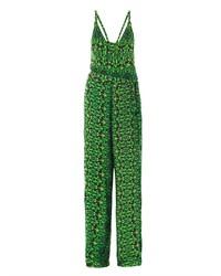 Vix Glenn Amazonia Print Jersey Jumpsuit