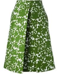Michael Kors Michl Kors Floral Print Skirt