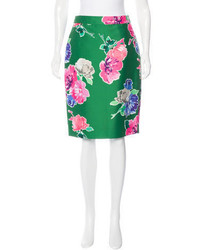 New york floral print pencil skirt w tags medium 3674268