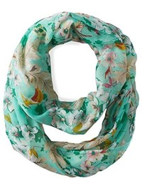 D&Y Ditsy Floral Print Loop Scarf