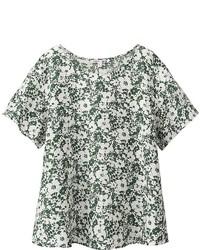 Uniqlo Premium Linen Short Sleeve T Blouse