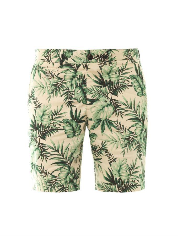 moncler green shorts
