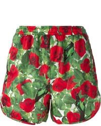 Pam Perks And Mini Rose Print Shorts