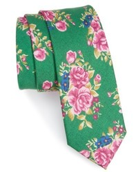 The Tie Bar Hinterland Floral Silk Tie