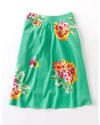 Boden pretty floral skirt medium 160517