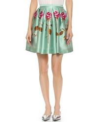 Floral pleated skirt medium 160518