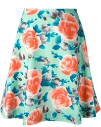 Marc by Marc Jacobs Jerrie Rose Circle Skirt