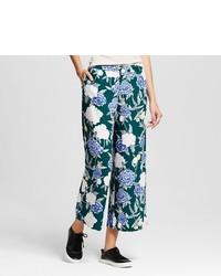 Merona Printed Wide Leg Pants