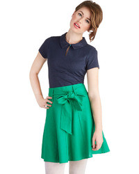 Musee skirt in green medium 37896