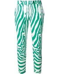 285 Zebra Print Trousers