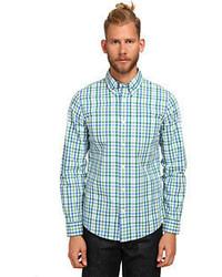 Jack Spade Avery Gingham Shirt Long Sleeve Button Up