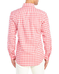 Johnnie O Gingham Button Down Sport Shirt | Where to buy & how to wear