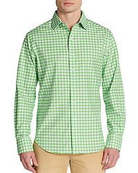 Robert Graham Regular Fit Gingham Cotton Sportshirt
