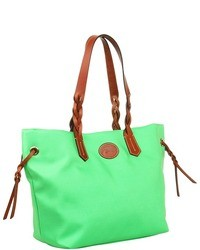 Nylon shopper tote handbags medium 6691