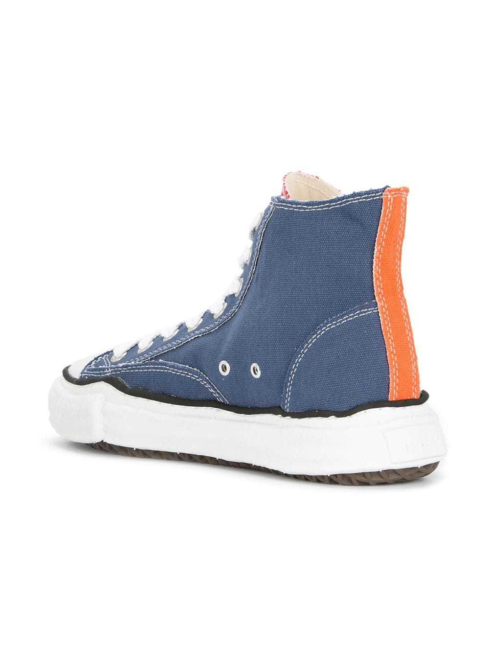 a96dacad8e1e ... Maison Mihara Yasuhiro Original Sole Hi Top Sneakers ...