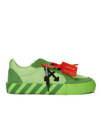 Off-White Green Low Vulcanized Sneaker
