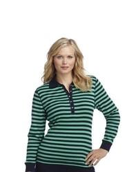 Chaps Striped Shirt Plus